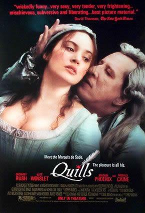 Películas y series históricas que os hayan marcado. Quills