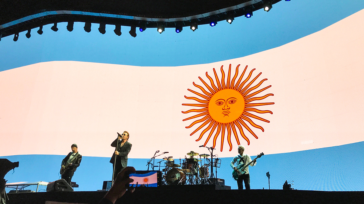 U2 in Buenos Aires