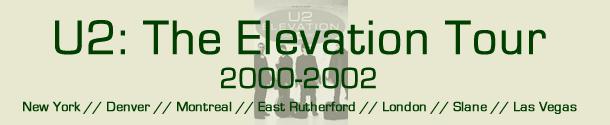 U2: The Elevation Tour