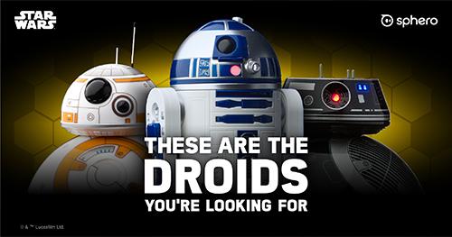 Sphero's Star Wars Droids